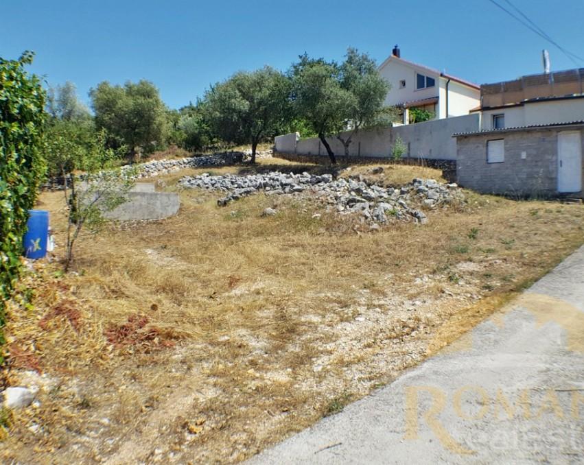 Baugrundstück mit Genehmigung | Trogir | Mastrinka