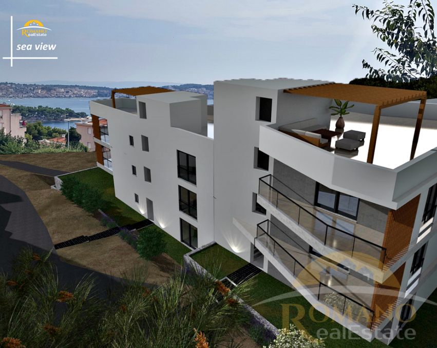 Luxury new building in Trogir - Balan - Apartment 1/3